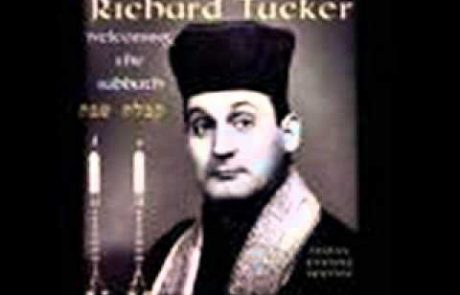 Richard Tucker's Cantorial Kiddush