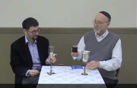Learning and Schmoozing with the Rabbis: Making Kiddush