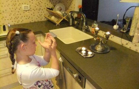 A Woman Before God: Candle Lighting Throughout the Generations