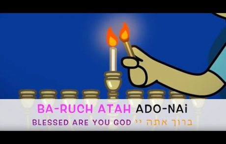 Learn to Recite the Blessings Over the Hannukah Candles (Ashkenazi Melodies)