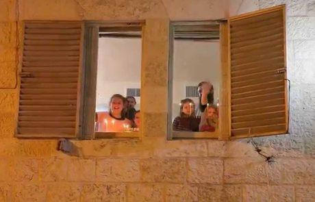 Hanukkah in the Old City of Jerusalem