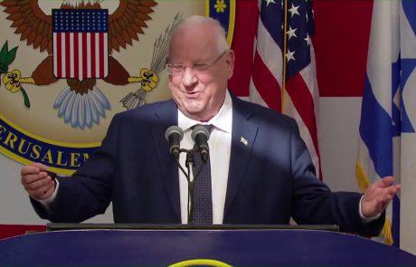 President Reuven Rivlin's Speech at Opening of US Embassy in Jerusalem